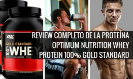 Review: Proteina Optimum Nutrition Whey Protein 100% Gold Standard