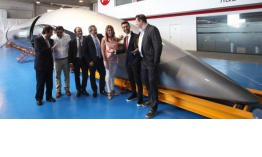 Presentan la primera cápsula 'made in Spain' del tren supersónico Hyperloop