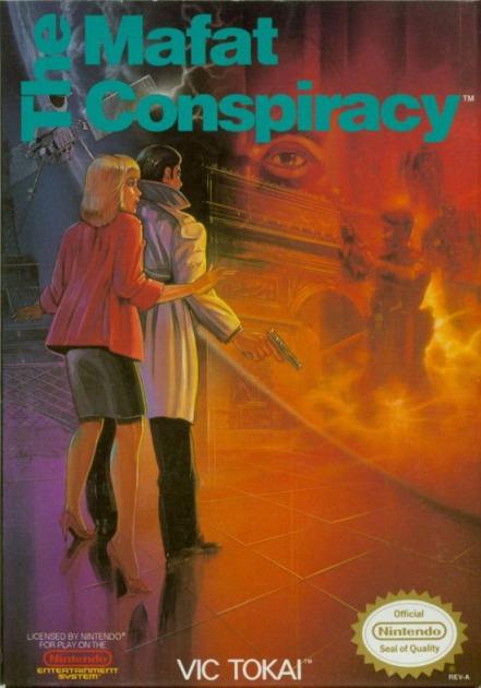 Imagen del juego Mafat Conspiracy: Golgo 13 de NES traducido al español