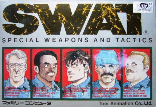 SWAT: Special Weapons and Tactics de Nintendo Famicom traducido al inglés
