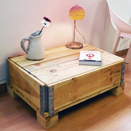 Las mesas con palets y ruedas para palets con ofertas for Ofertas muebles de terraza