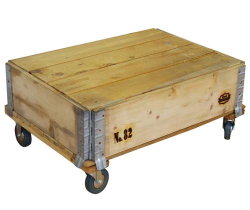 Las mesas con palets y ruedas para palets con ofertas for Mesas de palets para jardin