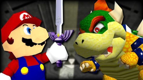 Imagen del juego [ROM hack] Super Mario 64: Ocarina of Time (Nintendo 64)
