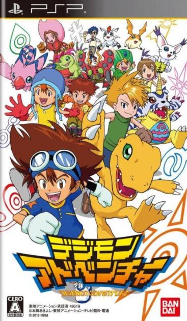 Imagen del juego Digimon Adventure de PSP traducido al inglés