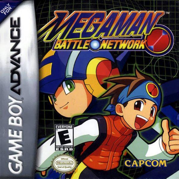 Imagen del juego Mega Man Battle Network de Game Boy Advance traducido al español