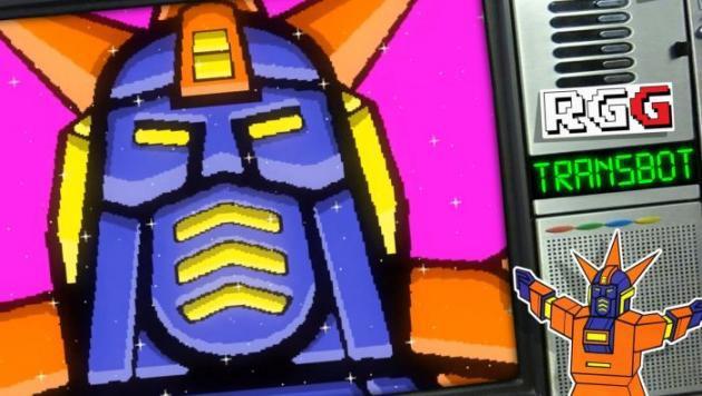 Imagen del juego El fangame Transbot Remake ya está disponible para descargar