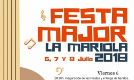 Fiesta Mayor Mariola 2018
