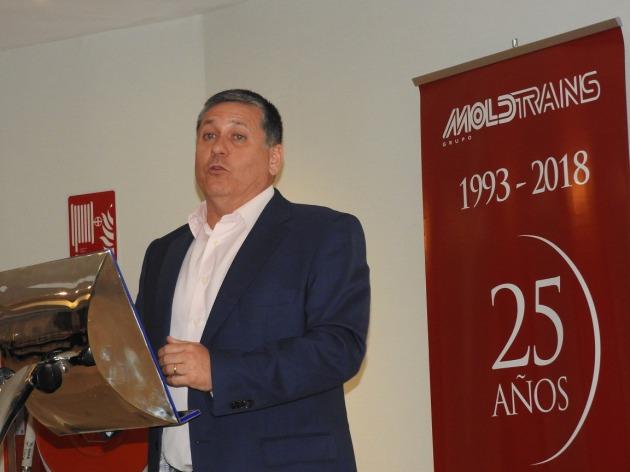 El grupo moldtrans celebra el 25 aniversario de su for Oficina trafico alicante