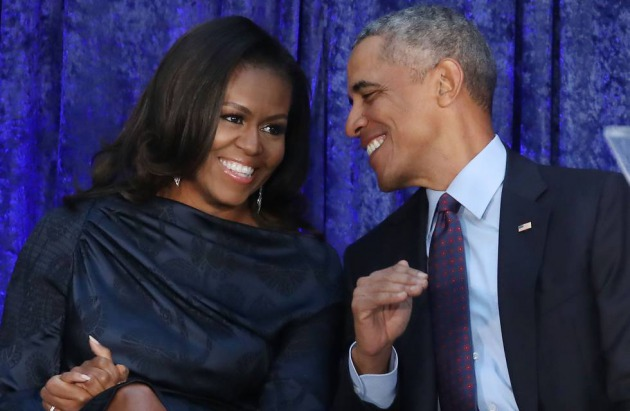 Barack Obama y Michelle Obama en Washington en febrero de 2018.