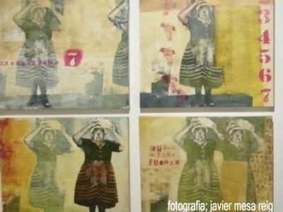 Maria Angeles Vila inaguró en el Tossal sus Pasajes de la Memoria