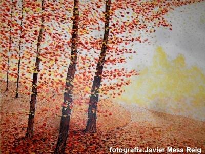 Luis bielsa exhibe su naturaleza de paisajes oto ales y - Cual es el color ocre ...