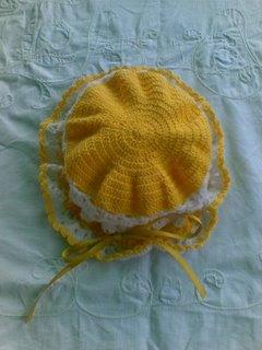Escarpines con Relieve Tejido a Crochet