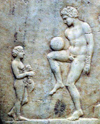 origen, historia, futbol, origenes, epislcyros, grecia, clasica
