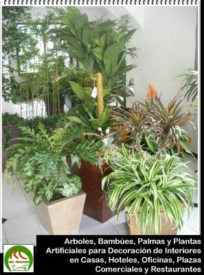 Las plantas artificiales en la decoracion de interiores for Plantas artificiales decoracion